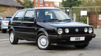 VW GOLF MK2 DRIVER 1.83DR BLACK 1990