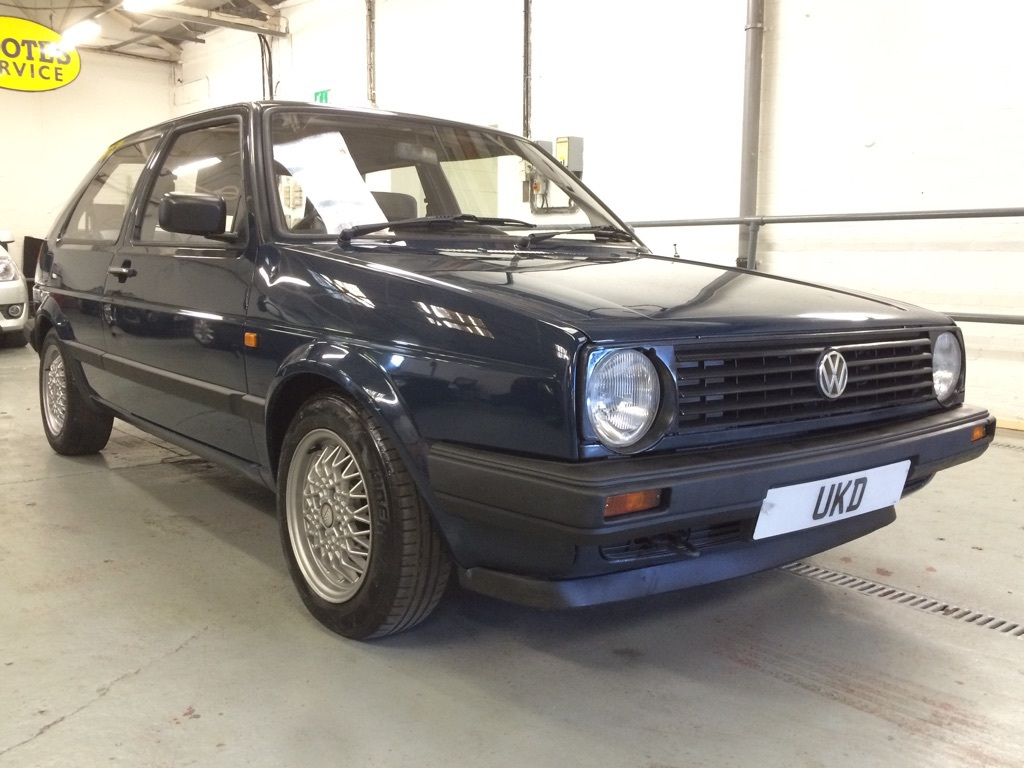 VW GOLF MK2 1.3 3DR BLUE 1990