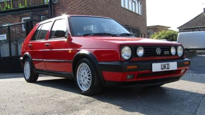 VW GOLF MK2 GTI 8V 1.8 5DR RED 1992