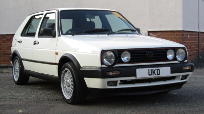 VW GOLF MK2 GTI 8V 1.8 5DR WHITE 1991