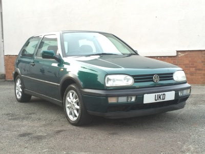 VW GOLF MK3 GTI 8V 2.0 3DR GREEN 1997