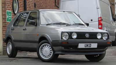 VW GOLF MK2 DRIVER 1.6 5DR GREY 1990