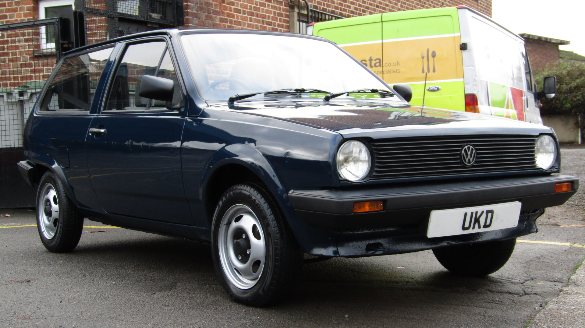 VW POLO MK2 BREADVAN 1.0 3DR BLUE 1985