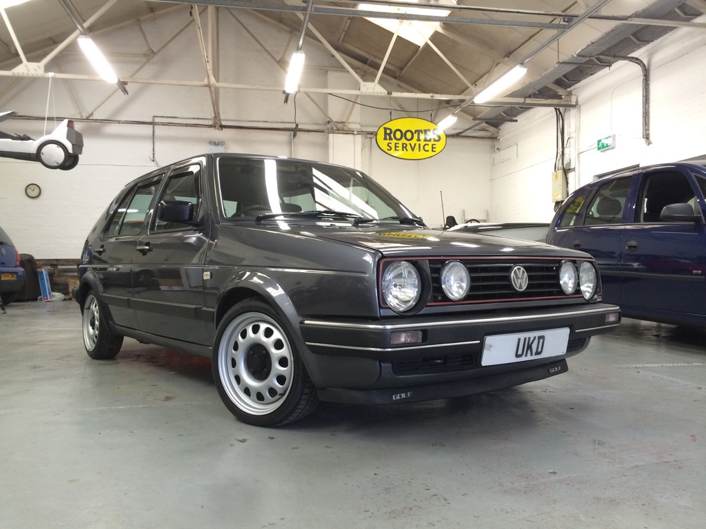 VW GOLF MK2 TOUR 1.8 5DR GREY 1988