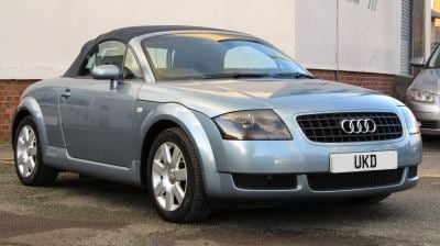 AUDI TT ROADSTER 1.8 2DR BLUE 2005