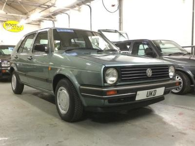 VW GOLF MK2 1.8 AUTOMATIC 5DR JADE GREEN 1989
