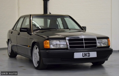 MERCEDES-BENZ 190E 2.0 AUTO BLACK 1992