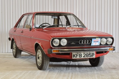 AUDI 80 1.5 GL 4DR RED 1975