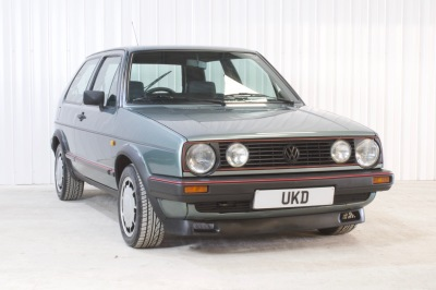 VW GOLF MK2 GTI 3DR 1985 JADE GREEN