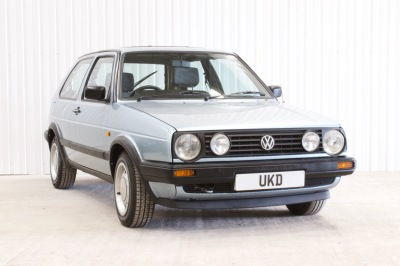 VW GOLF MK2 1.6 DRIVER 3DR BLUE